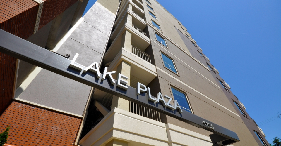 Lake-Plaza-Exterior-Sign