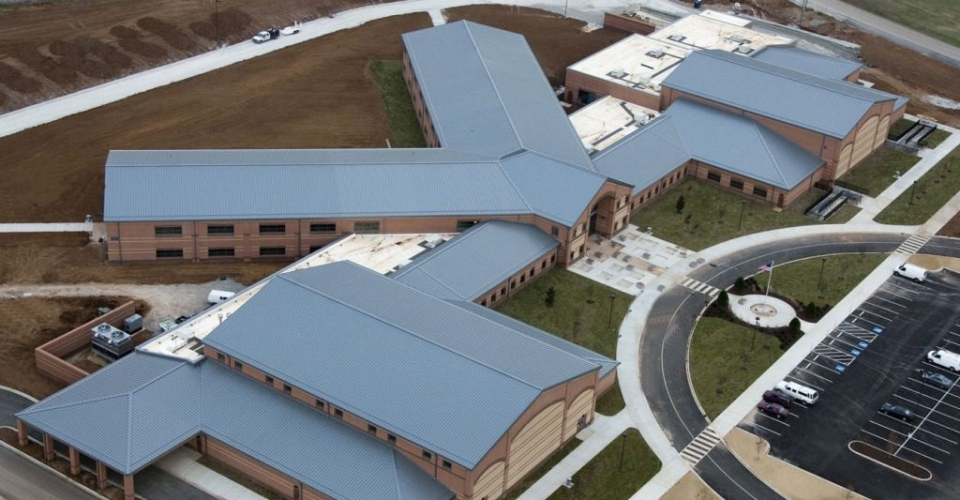 Spring Hill Middle School Aerial