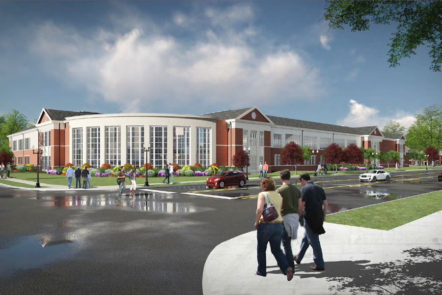 TTU New Student Recreation and Fitness Center